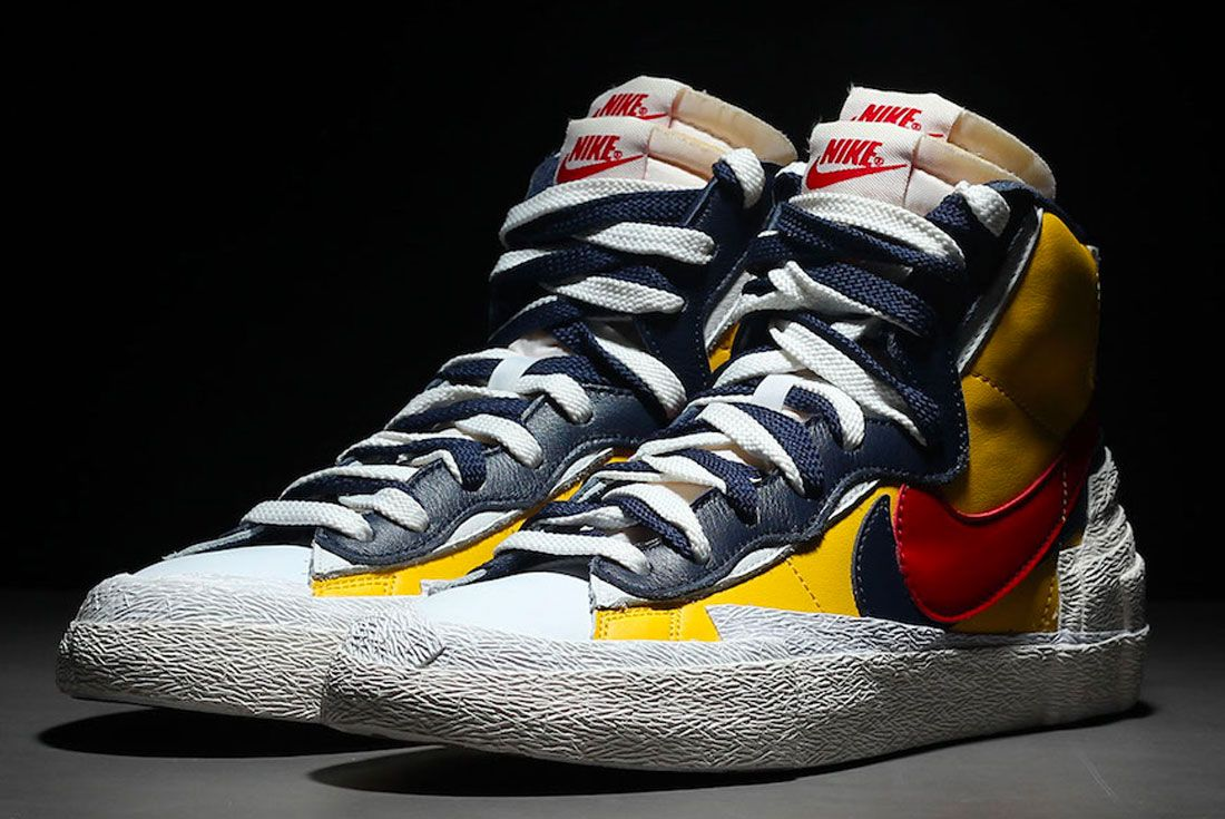 Versus Is The Sacai Nike Blazer Atrocious Or Avant Garde