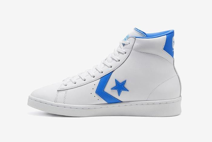 Converse Pro Leather Hi Blue Medial