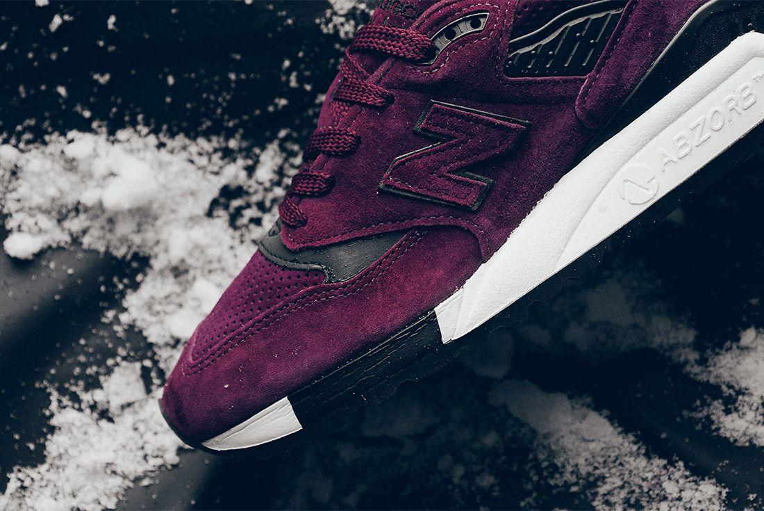 New Balance M998 Cm 998 Burgundy Sneaker Politics Sneaker Freaker 9