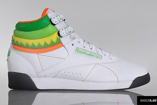 Reebok Freestyle Hi Sushi International 1 1