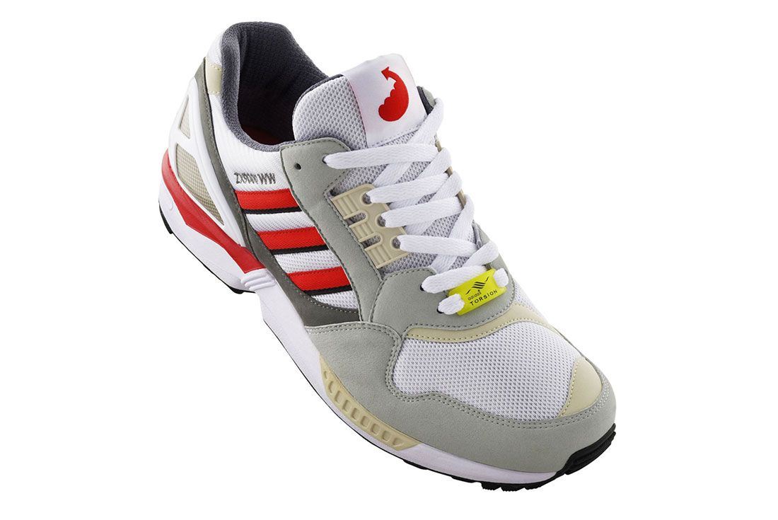 Wood Wood Adidas Zx 9000 Front Angled