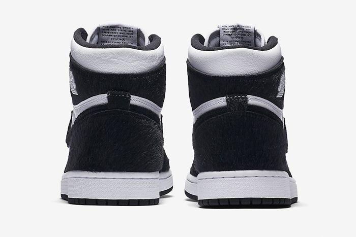 Air Jordan 1 Retro High Og Panda Cd0461 007 Release Date Heel