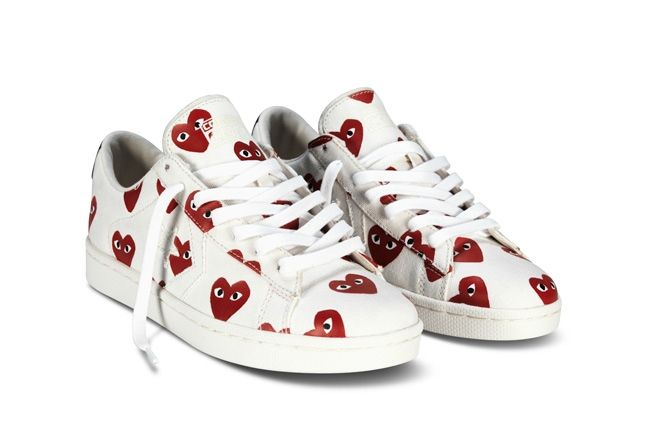 Converse Comme Des Garcons Play Collection Red White Hero 1