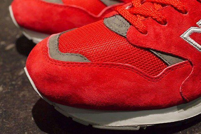 New Balance Red Mesh 1600 1