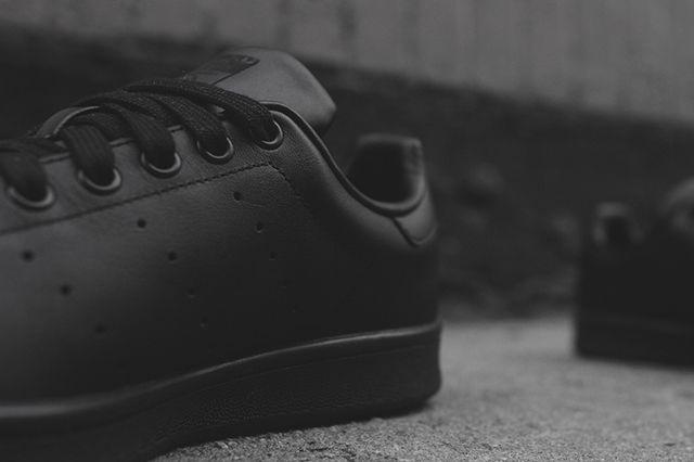 Adidas Stan Smith Triple Black 3