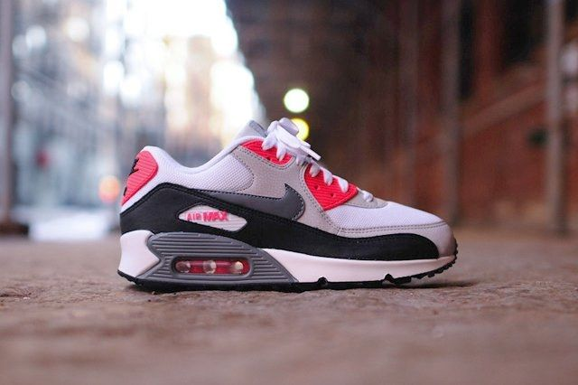 Nike Air Max 90 Essential Cl Grey Infrared 6