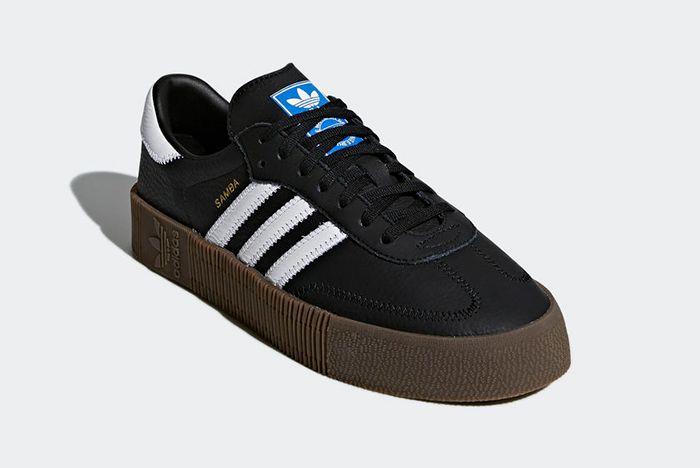 Adidas Sambarose Black 3