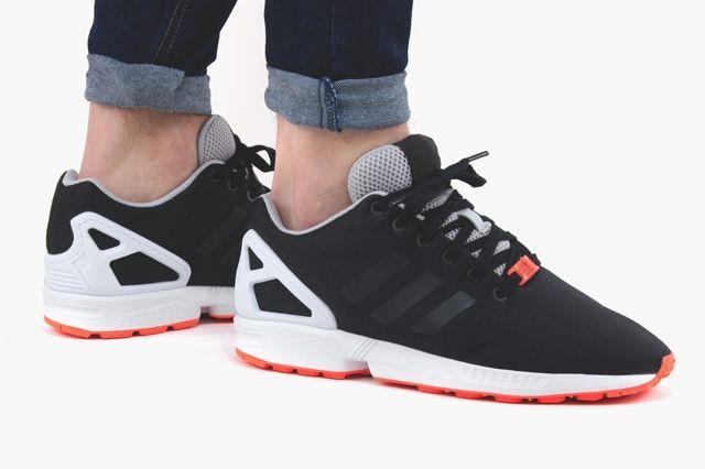 Adidas Zx Flux Core Black Core Black White 3