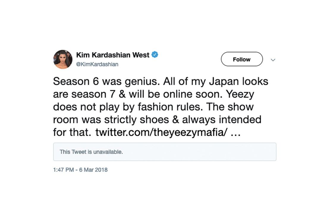 Yeezy Mafia Interview Season 6 Kim K Tweet
