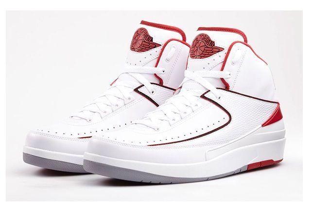 Air Jordan 2 Varisty Red Bump Bump 1