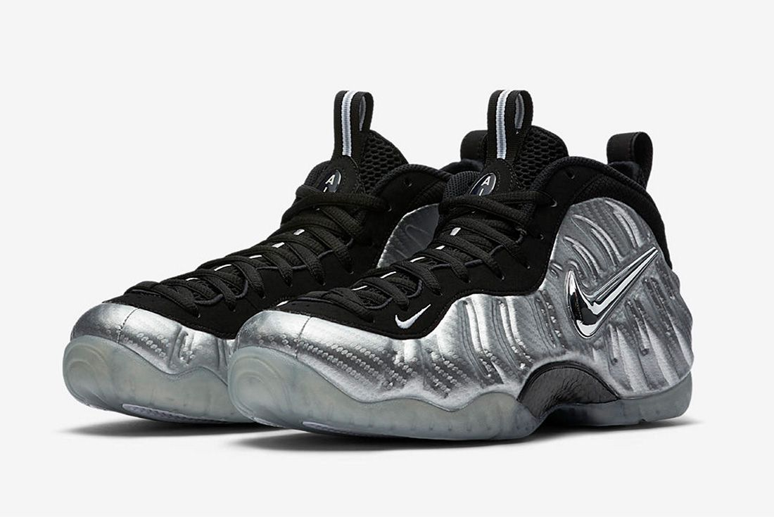 Nike Air Foamposite Metallic 2