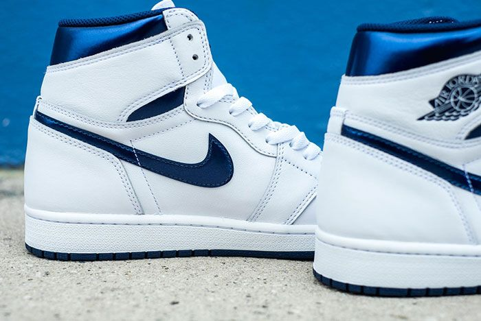 Air Jordan 1 High Og White Navy Release Details 1