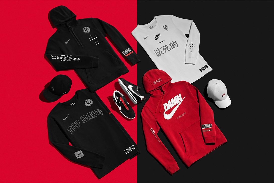 Kendrick Lamar Nike Tde Championship Tour 2