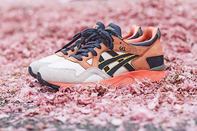 Ubiq X Asics Gel Lyte V Midnight Bloom 9