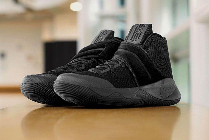 Nike Kyrie 2 Triple Black 2
