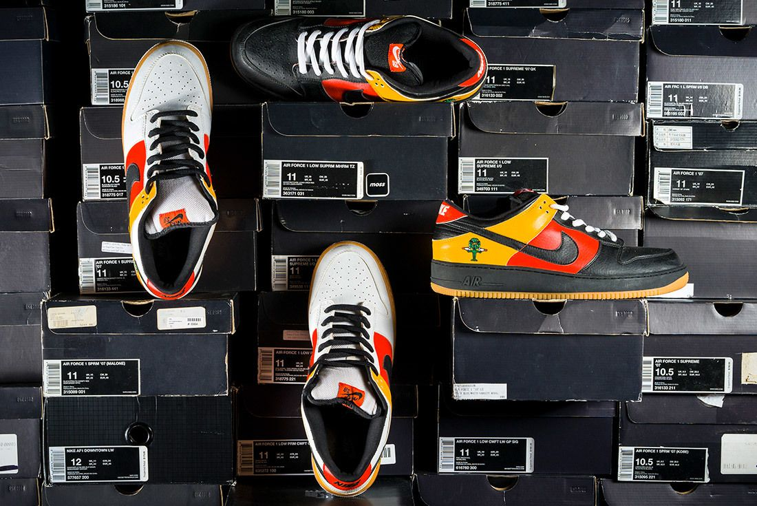 The Chicks With Kicks Sneaker Freaker Interview Nike Air Force 1 X Dunk Sb Rayguns 2
