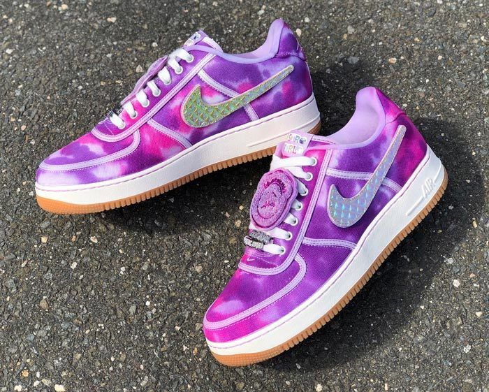 Astroworld Travis Scott Nike Air Force 1 Custom 3