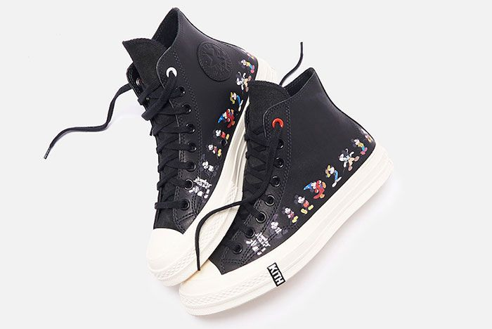 Kith Disney Converse Chuck 70 Mickey Mouse Release Date 10Black Hero Shot