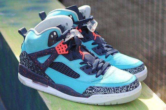 Air Jordan Spizike Turquoise Blue Thumb
