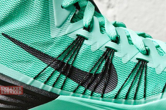 Nike Hyperdunk 2013 Green Glow 1 Det