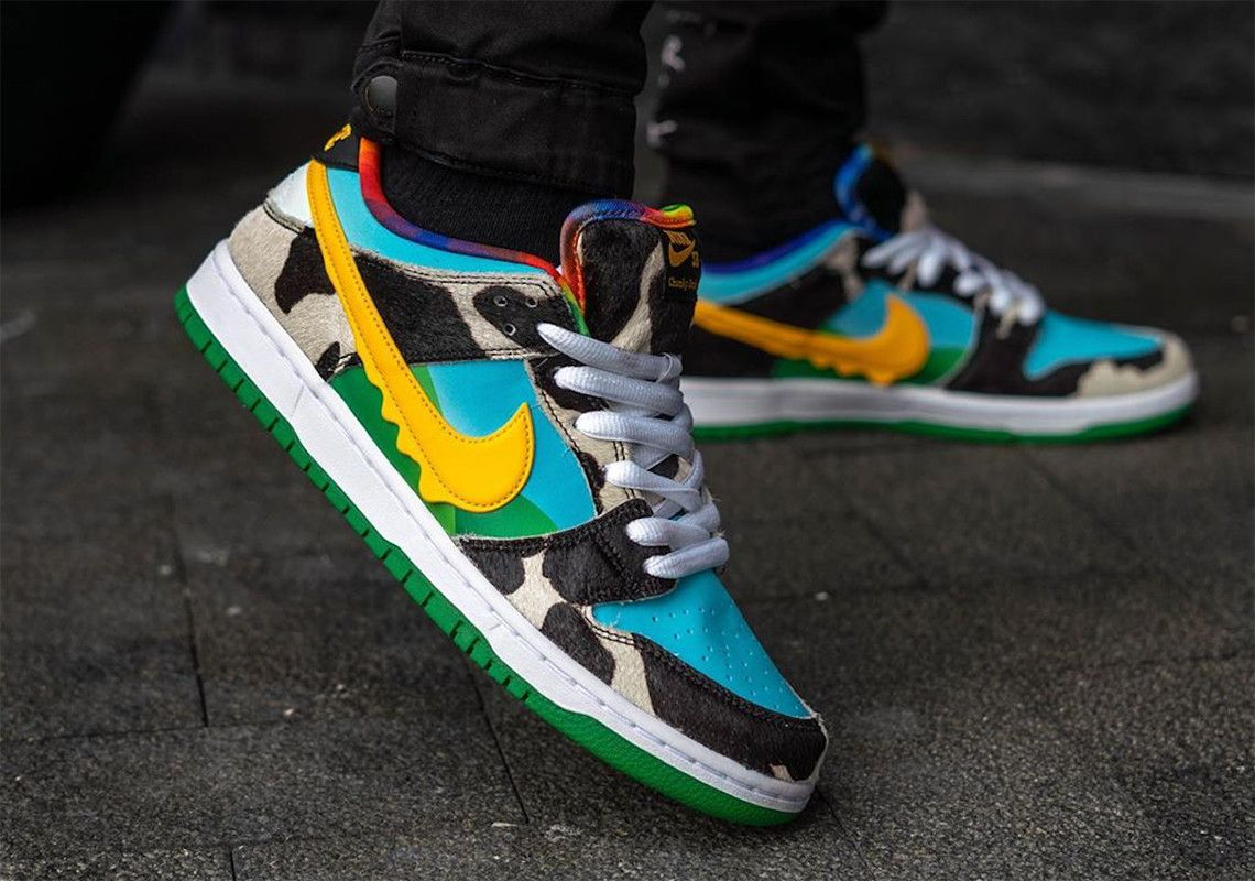 On-Foot: Nike SB Dunk Low 'Ben and Jerry'