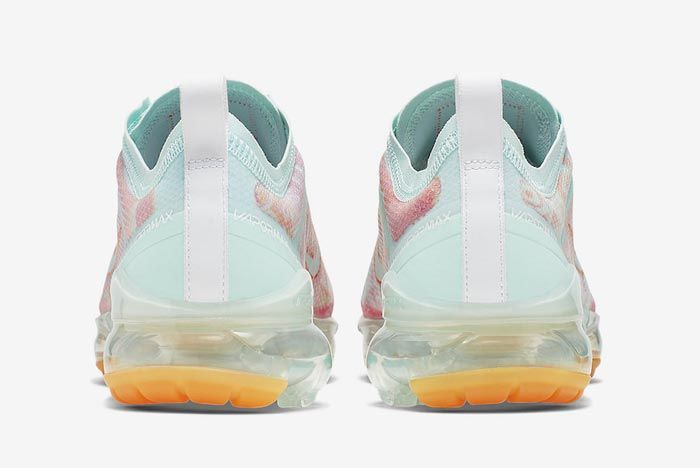 Nike Air Vapormax 2019 Pink Orange Heels