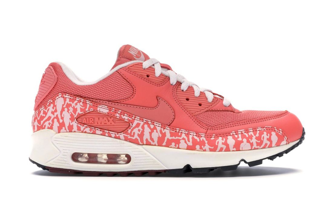 Nike Air Max 90 Powerwall Sunblush 314206 661 Lateral