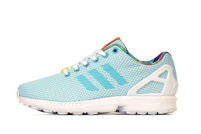 Adidas Originals Zx Flux Weave Light Aqua 2