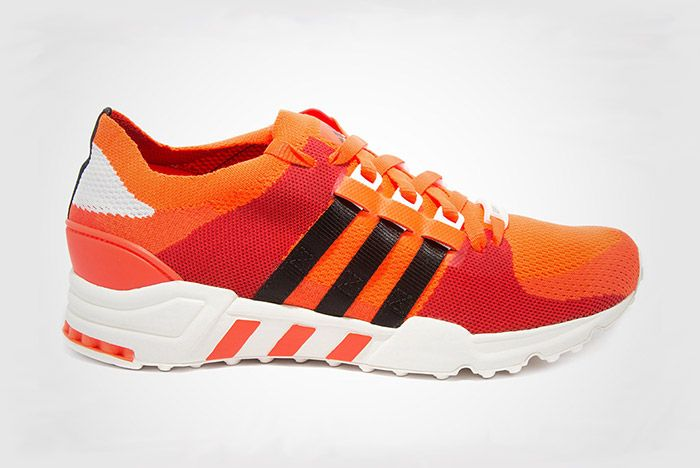 Adidas Eqt Support Primeknit Orange 2