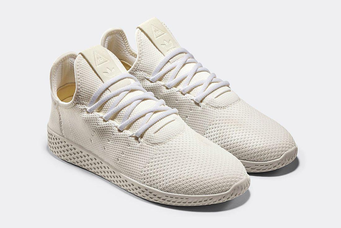 Pharrell Adidas Tennis Hu Holi White Blank Canvas Da9613 2