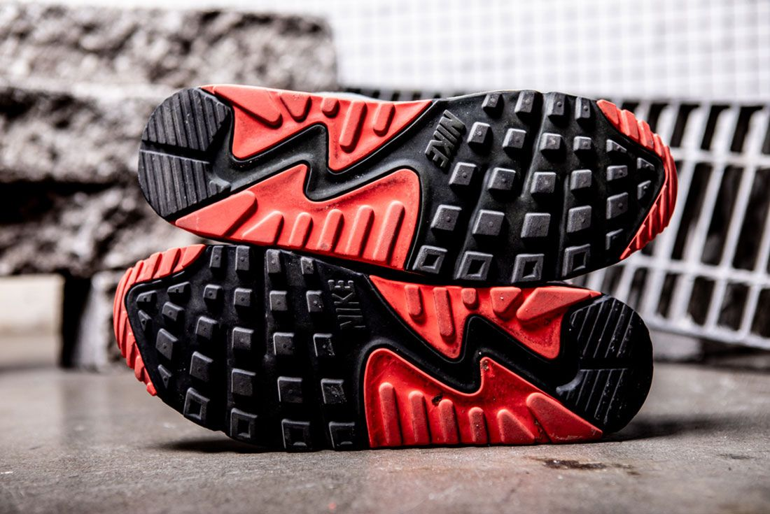 Nike Air Max 90 Infrared 2008 Outsole