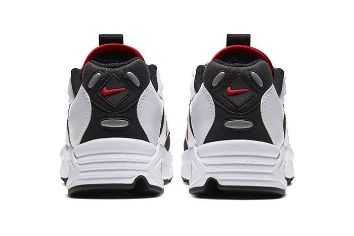 Nike Air Max Triax 96 White University Red Black Release Date Heel