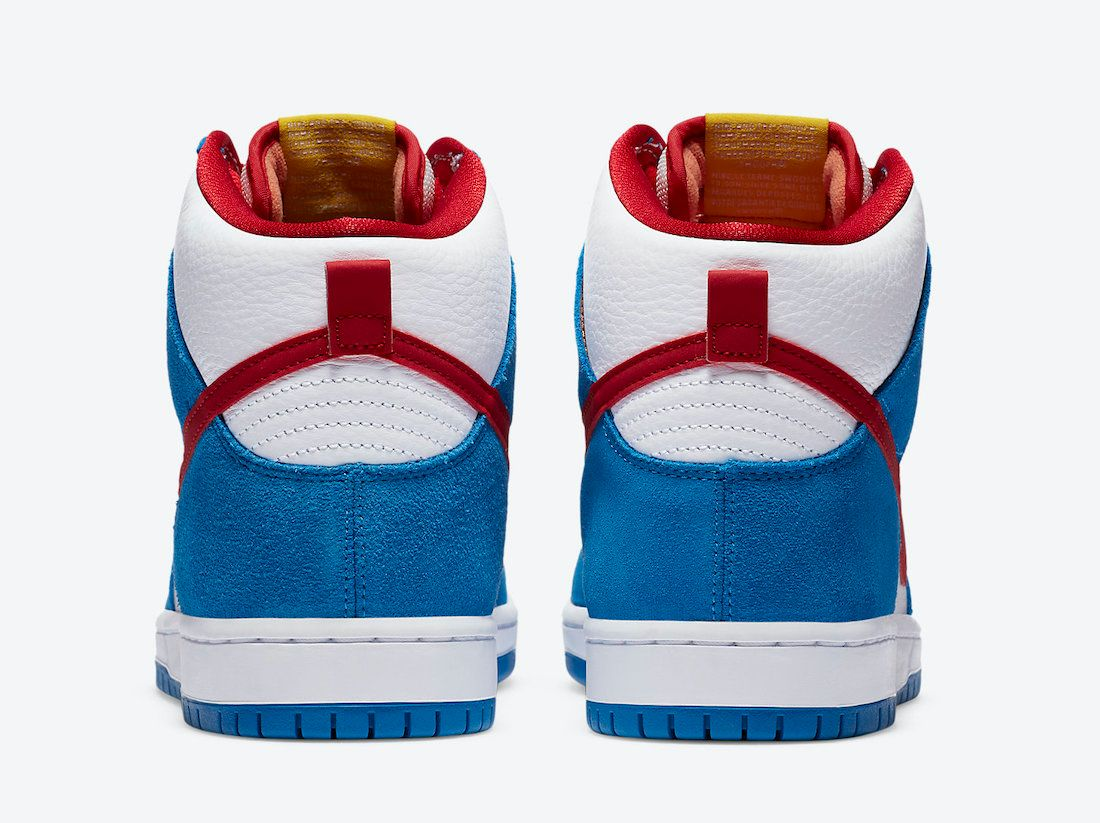 Nike SB Dunk High Doraemon Heel
