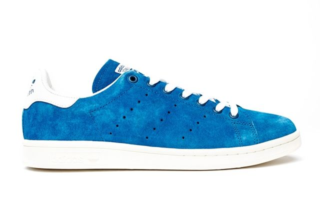 Adidas Stan Smith Suede Pack Blue