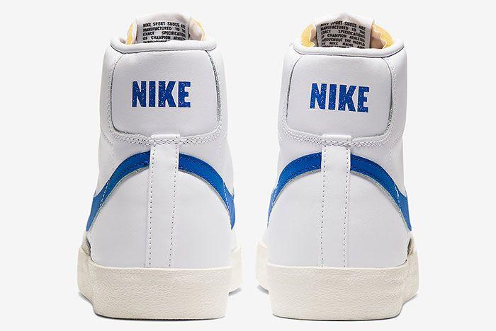 Nike Blazer Mid 77 Vintage Racer Blue Bq6806 103 Heel