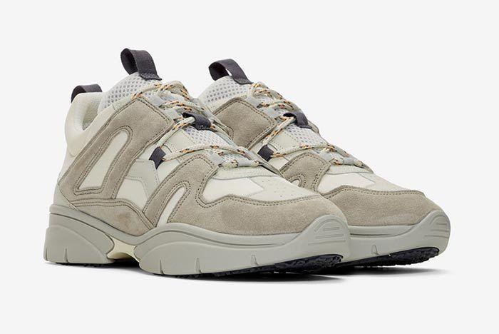 Isabel Marant Kindka Mountain Sneaker Light Grey 3