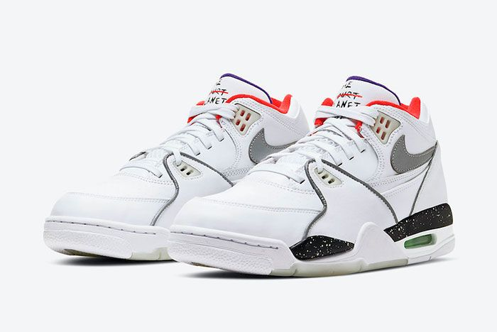 Nike Air Flight 89 Planet Of Hoops Cw2616 101 Front Angle