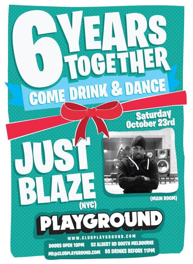 Just Blaze Playground 1 1