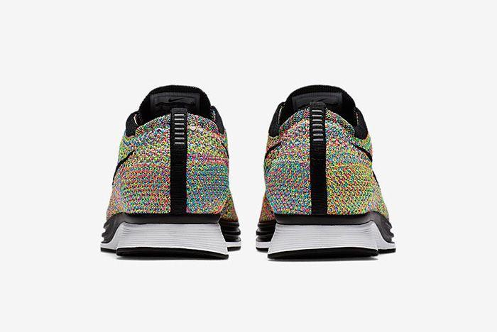 Nike Flyknit Racer Multicolour 4