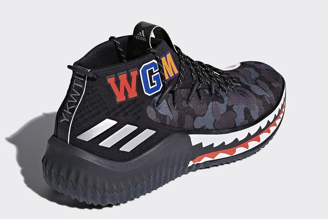 Bape X Adidas Dame 4 Release Date 8