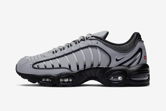 Nike Air Max Tailwind 4 Black Grey Lateral