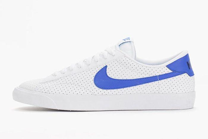 Nike Tennis Classic Ac White Racer Blue Perf 2