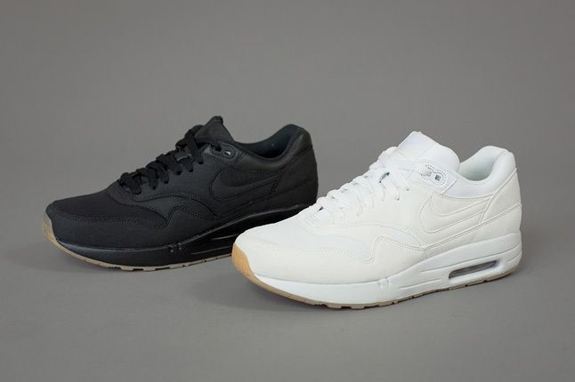 A P C X Nike Spring 2013 Collection Black And White Angle 1