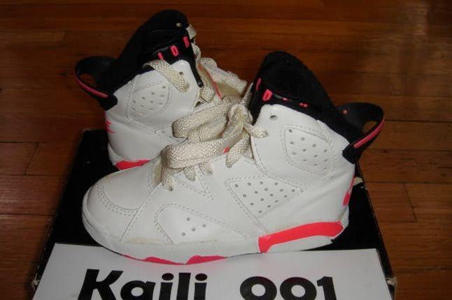 Air Jordan Vi Infrared Kids 1