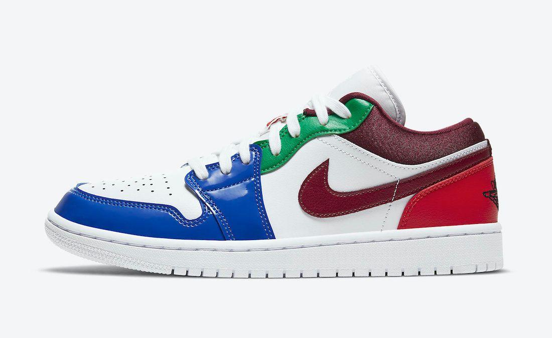 Air-Jordan-1-Low-multi colour