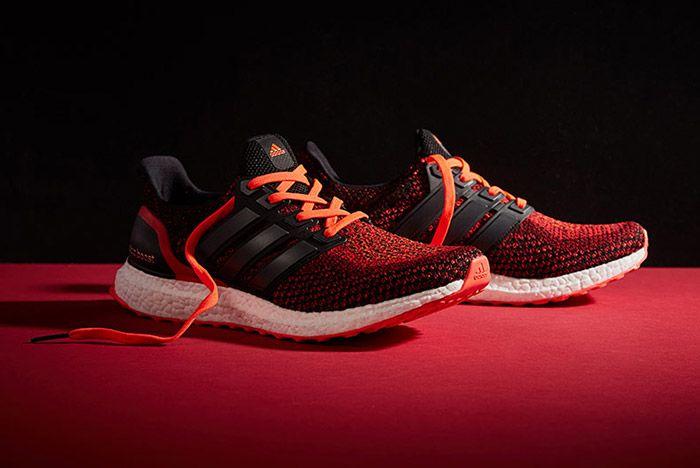 Adidas Ultra Boost M Black Red 4