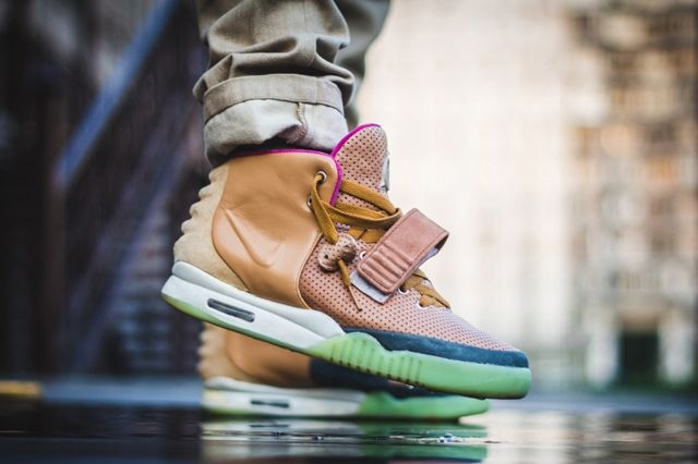 Nike Air Yeezy 2 Custom Maggi 5