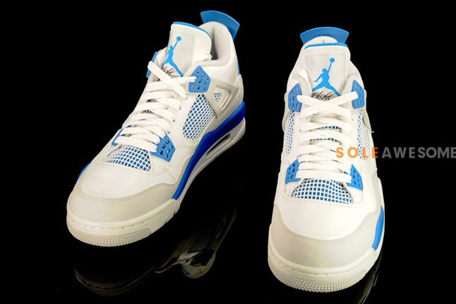 Air Jordan 4 Military Blue 06 1