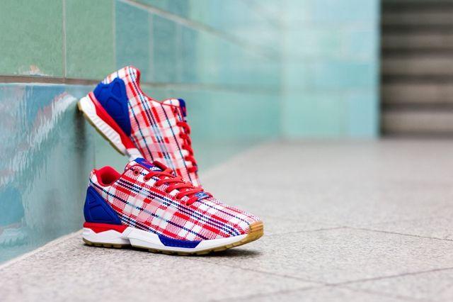 Clot Adidas Consortium Zx Flux Tartan 4