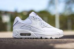 Nike Air Max 90 Gs Triple White